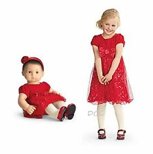 American Girl CL BITTY BABY SET TWINKLE PARTY DRESS SIZE 4 for Girls & Dolls NEW