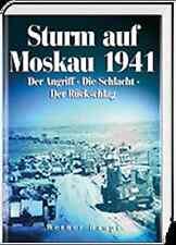 Haupt: Sturm auf Moskau 1941 Der Angriff - Schlacht - Rückschlag Ostfront NEU