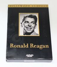 New & EUC Hollywood Classics Double Feature Ronald Reagan Movie 2 DVD Set
