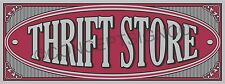2'X5' THRIFT STORE BANNER Outdoor Indoor Sign Resale Shop Clothing Furniture