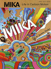 Mika Life In Cartoon Motion Music Book Piano Guitar PVG