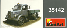 MiniArt 35142 - L1500S German 1,5t 4x2 Cargo Truck  - deutscher LKW - 1:35