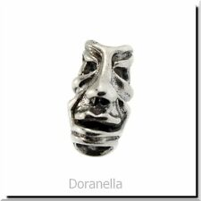 Authentic Trollbeads Sterling Silver 11265 Fabled Faces :0 RETIRED