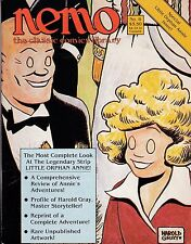 NEMO: CLASSIC COMICS LIBRARY #8 AUG 1984 SPECIAL LITTLE ORPHAN ANNIE ISSUE