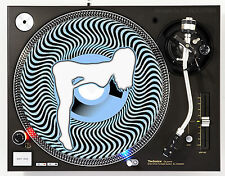 AFFILIATED BABY BLUE - DJ SLIPMATS (1 PAIR) 1200's or any turntable