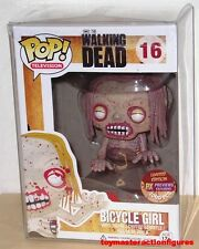 FUNKO POP TV The WALKING DEAD PX BLOODY BICYCLE GIRL 16 1000 pcs Figure IN STOCK