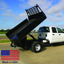 FLAT BED TRUCK DUMP KIT for 8 to 12 Ft Flat Bed Trucks - 5 Ton Cap - Made in USA