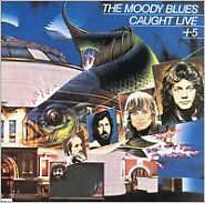 THE MOODY BLUES : CAUGHT LIVE + 5 (CD) Sealed