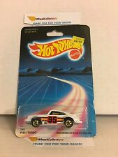 #25 P-911 Turbo Porsche 3969 * WHITE * 1986 Hong Kong * Vintage Hot Wheels * E20