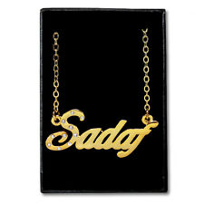 Gold Plated Name Necklace - SADAF - Gift Ideas For Her - Fashion Anniversary