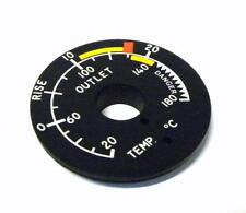 NEW HORIZON AEROSPACE S1838W RISE / OUTLET DIAL 0-20°C RISE 0-180°C OUTLET