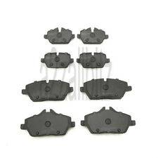 fits BMW 1 SERIES E87 116i 116d 118i 118d 5dr FRONT AND REAR BRAKE PADS FULL SET