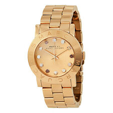 Marc by Marc Jacobs Amy Texter Rose Gold-tone Ladies Watch MBM3216