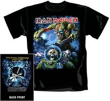 "IRON MAIDEN ""FINAL FRONTIER TOUR (EUROPE)"" T-SHIRT GRÖSSE/SIZE S (SMALL) NEW+"