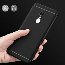 Rubberised Slim Soft Silicone Back Cover For XIAOMI MI REDMI NOTE 4 Black