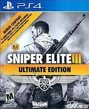SNIPER ELITE III ULTIMATE EDITION PS4 ACTION NEW VIDEO GAME