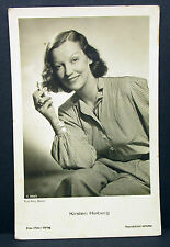 Kirsten Heiberg - Actor Movie Photo - Foto Autogramm-Karte AK (Lot-H-341