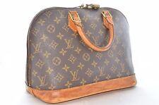Authentic Louis Vuitton Monogram Alma M51130 Hand Bag LV W/ Padlock #4316