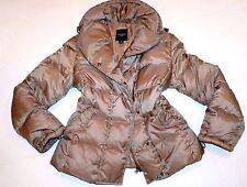 Luxury MAX MARA Original 100% Down 12 Puffer Puffa Pearl Camel jacket coat Ski