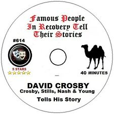 Alcoholics Anonymous AA 12 Step Speaker CD - David Crosby Tells His Story