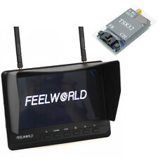 "Feelworld 7"" HD 32CH FPV Monitor 5.8G  Wireless Reciever&TS832 Transmitter 600mW"