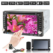 GPS Navigation 2Din HD Car Stereo DVD CD Player Bluetooth Auto Radio iPod