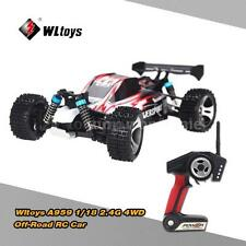 Wltoys A959 RC Car 1:18 Scale 2.4G 4WD RTR Off-Road Buggy Truck CLEARANCE E5E2