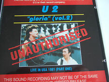 U2 CD Gloria Vol 2 Unauthorised