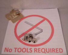 10 Locking Pin Backs Disney - Lapel Pins NO TOOLS REQUIRED Easy Secure & Quality