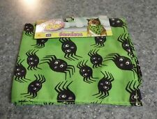 Brand New Halloween Green Spider Design Dog Bandana For Dog Rescue Charity