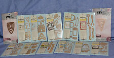 Spellbinders Lot of 13 packs Die D-lites and Media Mixage Dies -- NEW!! - LOOK!!