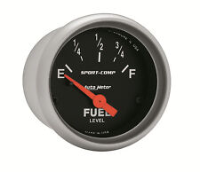 "AUTOMETER Sport-Comp ELECTRIC UNIVERSAL GM CHEVY FUEL LEVEL GAUGE 2-1/16"" (52mm)"