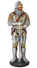 Medieval Knight Life-Size Sculpture Statue Replica 71""
