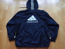 Vintage Adidas Trefoil Logo Windbreaker Jacket Size L Palace Run DMC France