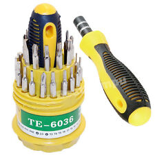 31 in 1 Screwdriver Set Mobile Phone Repair Kit Tools T4 T5 T6 T7 T8 T10 T15 T20