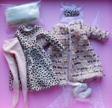 "16"" Tonner~Ellowyne Wilde~Cozy Coat & Dressy Dress Lizette Outfit~No Doll~New"