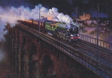 Tornado 60163 A1 moteur ferroviaire train locomotive à vapeur Fête des Pères Carte Anniversaire