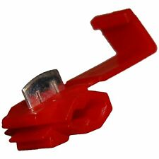 20 x RED Quick Splice Self Stripping Connector Scotch Lock Electrical Terminals