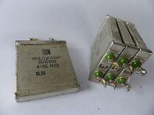 4x MP-Kondensator 0,22 µF / 630 V, für Röhrenverstärker / Frequenzweichen, etc.