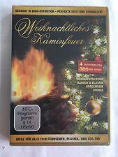 WEIHNACHTLICHES KAMINFEUER - MIT 4 MUSIKWELTEN - DVD - NEU & OVP