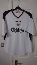 Reebok LIVERPOOL Football Shirt Men's Soccer Jersey 2001 XXL LFC Away Top 2XL