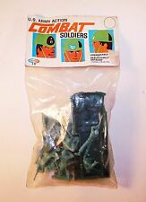 Vintage 1960s Payton US Army Action Combat Toy Soldiers - Palmer Plastics