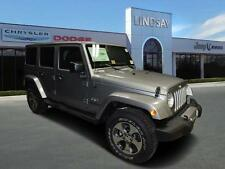 Jeep: Wrangler 4X4 4dr Saha