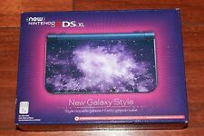 Brand New Nintendo New 3DS XL Galaxy Style Gaming System, Blue