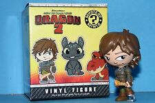 "How to Train Your Dragon 2 Mystery Minis 3"" Funko Hiccup Flaming Sword"