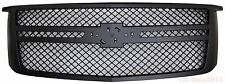 Chevrolet Tahoe Suburban Grille 2015-2016 Performance Style Matte Black With Bar