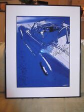 CAROLE SHELBY.......FRAMED ARTWORK..C.O.A..  AUTOGRAPHED..DON'T PASS THIS ONE UP