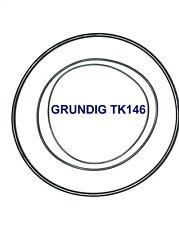 CORREAS SET GRUNDIG TK146 MAGNETOFONO EXTRA FUERTE NEUVAS DE FABRICA TK 146