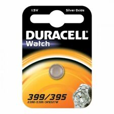 1 Batteria D395-399 AG7 DURACELL pulsante ossido diargento
