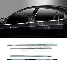 Chrome Side Window Acceent Molding Cover Trim For RENAULT 2010-2017 Fluence SM3